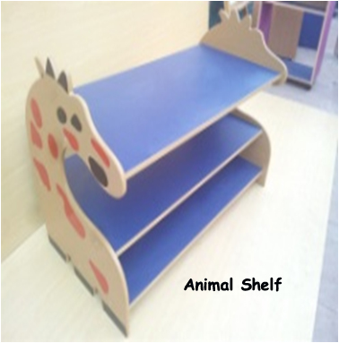 Animal Geraf Shelf