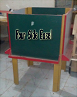 Four Side Easel