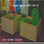 Kinder Boxes (SET OF 2)