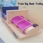 Train Big Book Trolley
