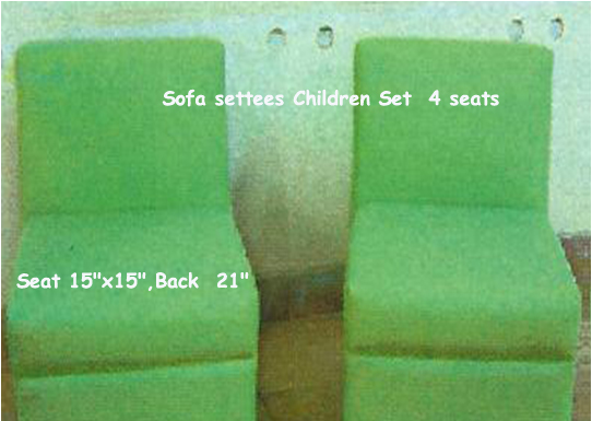 sofa set 4pc